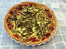 cuisine sauvage recettes recette de tarte aux asperges sauvages et jambon