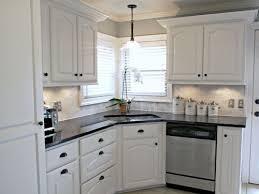 white kitchen cabinets with white backsplash kitchen graceful kitchen white backsplash cabinets black granite