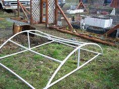 free plans for a pvc pipe cold frame garden pinterest cold