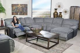 5 piece living room set mor furniture for less the austin graphite 5 piece reclining