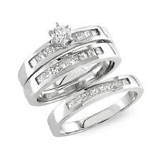 wedding ring trio sets trio set wedding band wedding rings depot