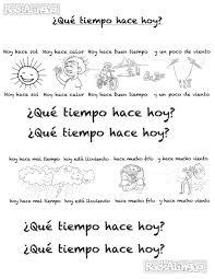 spanish weather song for kids easy level rockalingua