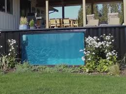 company turns shipping containers into swimming pools business