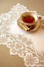 Dining Room Linens by 10 Best Lace Placemats Images On Pinterest Lace Curtains