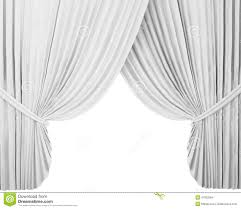 white stage curtain background stock illustration image 47002384
