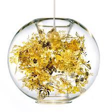 Globe Ceiling Light Tangle Globe Pendant Gold Silver Modern Pendant Lamp Wednesday