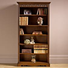 Narrow Bookcases Uk by Oc2117 Bookcase Old Charm Furniture Wood Bros The Online