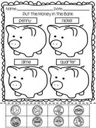 free color the coin worksheets the coin free coloring and half