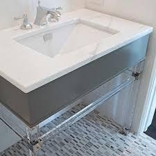 Lucite Bathtub Lucite Vanity Base Design Ideas