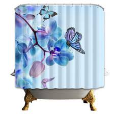 Blue Butterfly Curtains Discount Butterfly Curtain Fabric 2017 Fabric Butterfly Shower