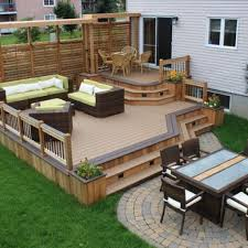 backyard deck designs elegant outdoor deck designs for your