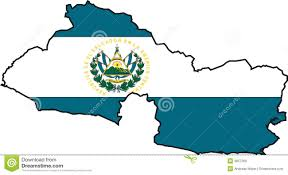 El Salvador On World Map by Map El Salvador Vector Stock Photo Image 3657200
