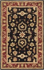 Black Throw Rugs Cambridge Red Black Area Rug Products Pinterest Oriental