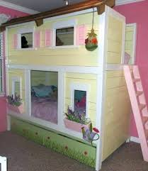 Playhouse Bunk Bed Playhouse Bunk Beds Thepoultrykeeper Club