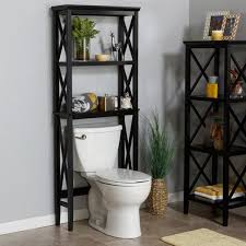 Over The Toilet Table Riverridge Home X Frame Over The Toilet Spacesaver Espresso