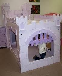 Castle Bedroom Furniture Castle Beds For Boy With Drawbridge