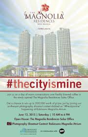 block facebook invites robinsons land corporation the magnolia residences invites you to