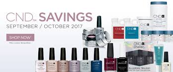 cnd savings pacific nail and beauty