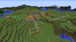minecraft 1 8 1 npc village seed compilation images minecraft