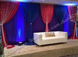 muslim backdrops linens chiavari chairs wall draping led lighting backdrop chicago