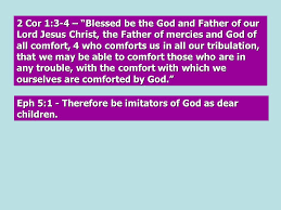 May The God Of All Comfort Is God A Great Spirit U2013 Vague U0026 Impersonal Is He Like A