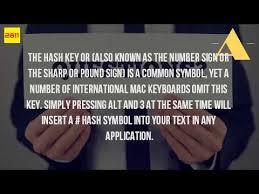 us international keyboard layout pound sign how do you get hashtag on keyboard youtube
