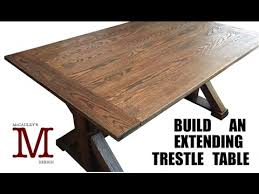 making a trestle table building an extending trestle table 015 youtube