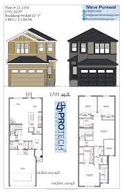 stock plans protech home design two story 3 bedroom 2 5 bathroom bonus room double garage