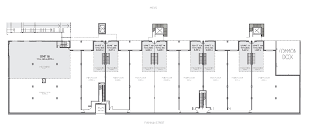 new office space showroom industrial warehouse floor plans