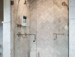 shower best horrifying corner tile shower without door