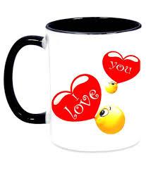Ceramic Coffee Mugs Alwaysgift I Love Your Smile Shona White Ceramic Coffee Mugs Buy