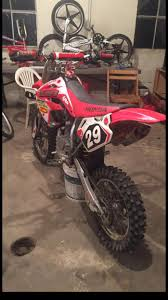 2007 crf 150r dirt bike motorcycles for sale