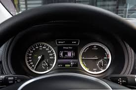 mercedes digital dashboard mercedes benz b class electric drive video test drive pcworld