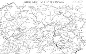 map of berks county pa map of the historic indian paths of pennsylvania visit pa