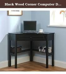 Black Computer Desk Enchanting Black Wood Computer Desk Coaster 800821 Black Wood