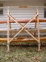 Wood Storage Rack Plans by A Simple A Frame Kayak Storage Rack Briannystrom Com