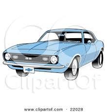 light blue camaro clipart illustration of a light blue 1968 chevrolet ss camaro