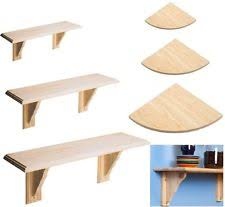 Wall Mounted Wooden Shelves by Wooden Wall Shelves Ebay
