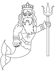 mermaids merman fantasy coloring pages u0026 coloring book