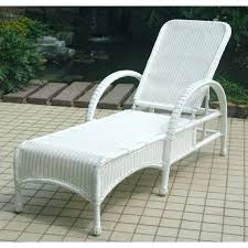 Outdoor Wicker Chaise Lounge Woven Chaise Lounge Chair U2013 Peerpower Co