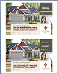 free ms word real estate flyer template formal word templates