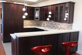dark cabinets with wood floor preferred home design