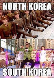 North Korea South Korea Meme - north korea vs south korea gangnam style know your meme