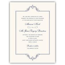 wedding invitation frame regal frame wedding invitations paperstyle
