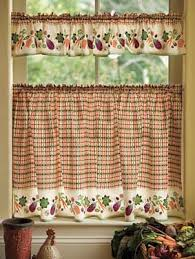 Cafe Curtain Pattern 82 Best Cortinas Cocina Images On Pinterest Kitchen Curtains