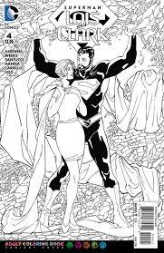 image superman lois clark vol 1 4 coloring book variant jpg