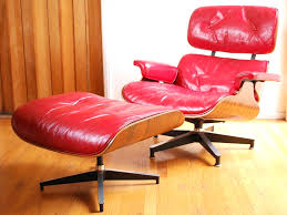 ottoman eames leather chair and ottoman lounge eames leather