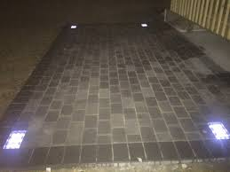 solar led paver lights led paver lights stylish cambridge pavers with solar power for one