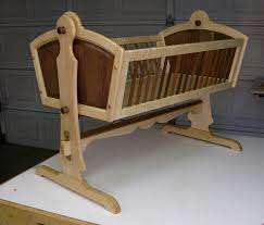 Free Wooden Baby Doll Cradle Plans by Wood Baby Cradle Plans Diy Free Wood Working Plans Pinterest