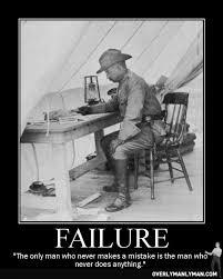 Failure Meme - overly manly man on failure